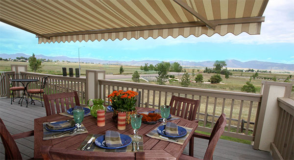 Motorized Window Treatments and Exterior Awnings Near Helena, Montana (MT) like Sunesta for Exteriors