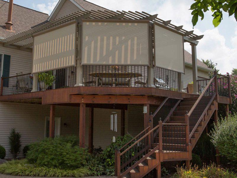 Adding Exterior Sunscreens to Homes near Helena, Montana, for Added Shade